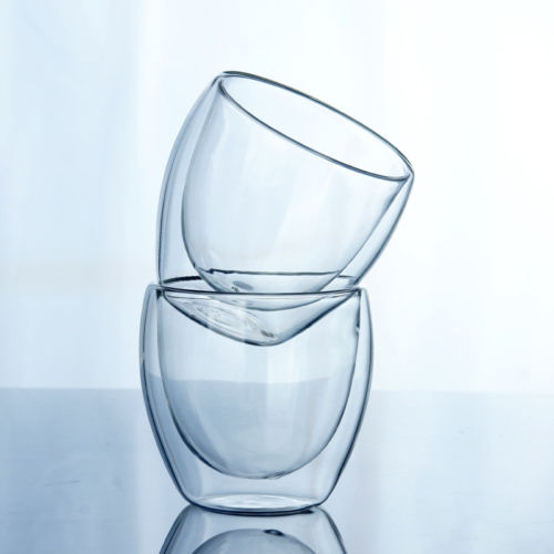 Hot Solid Glass Coffee  Cup