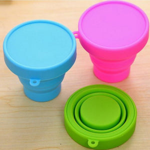 Portable Silicone  Folding Cup