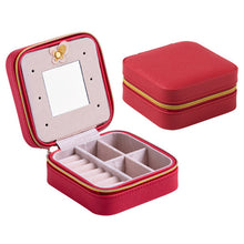 Load image into Gallery viewer, Box Travel  Jewelry Storage Box