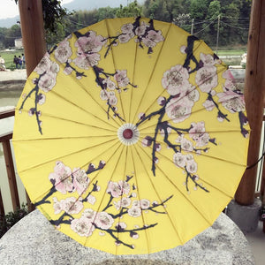 Oiled Paper umbrella Rain Women