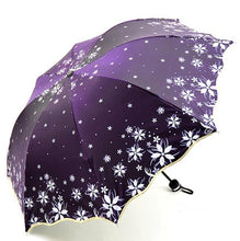 Load image into Gallery viewer, Beautiful Shine Reflective Women's Umbrella