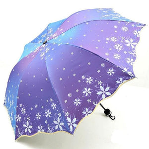 Beautiful Shine Reflective Women's Umbrella