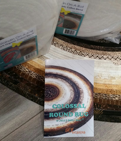 KIT:  Colossal Round Rug
