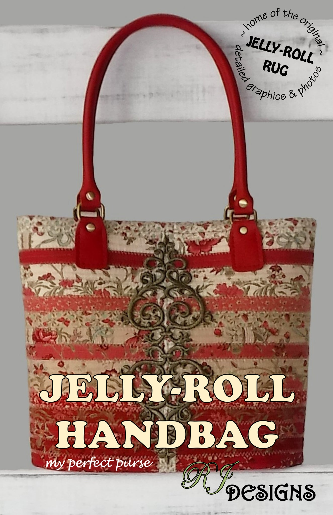 Jelly-Roll Handbag (PDF pattern)