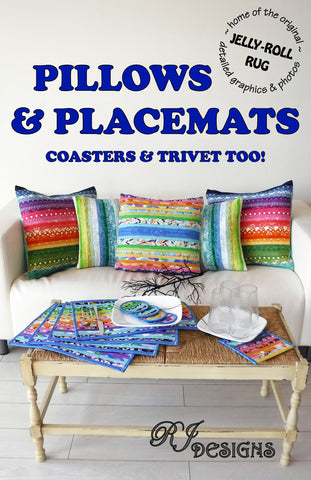 Pillows & Placemats Pattern (PDF pattern)