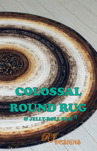 Colossal Round Rug (PDF pattern)