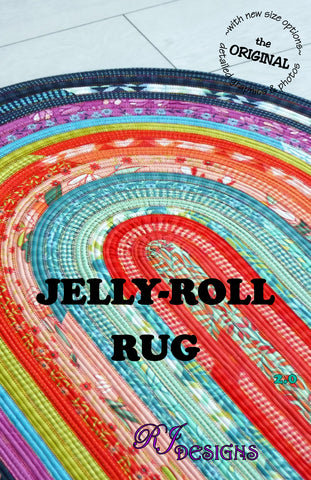 Jelly-Roll Rug (PDF pattern) *updated
