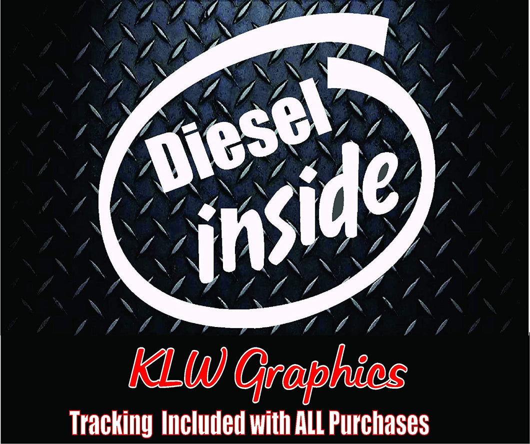 Diesel Inside Vinyl Decal Sticker