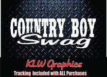 Load image into Gallery viewer, Country Boy Swag Vinyl Decal Sticker