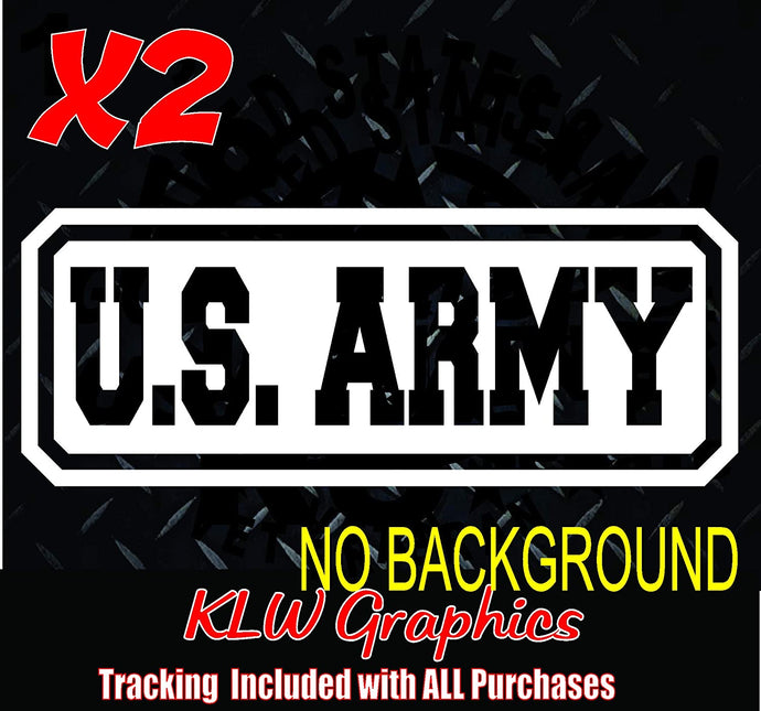 US Army Vinyl Decal Sticker