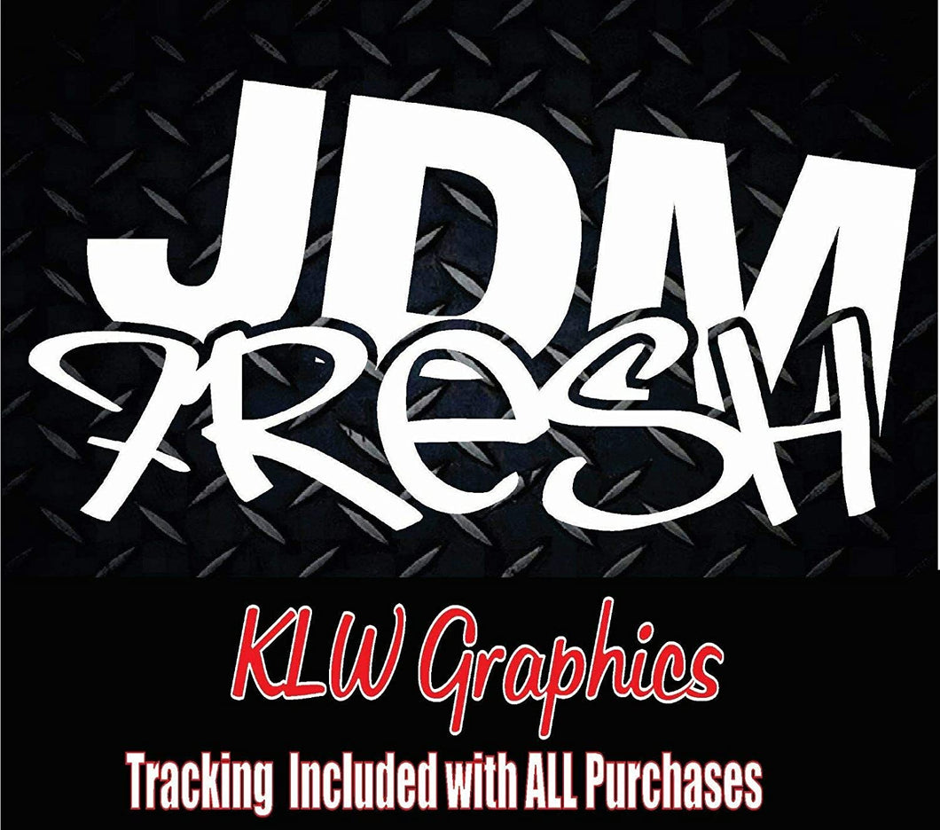 JDM Fresh Vinyl Decal Sticker