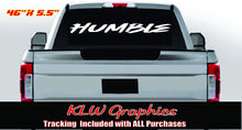 Load image into Gallery viewer, Humble Vinyl Decal Bumper Sticker
