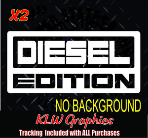 Diesel Edition Decals Stickers
