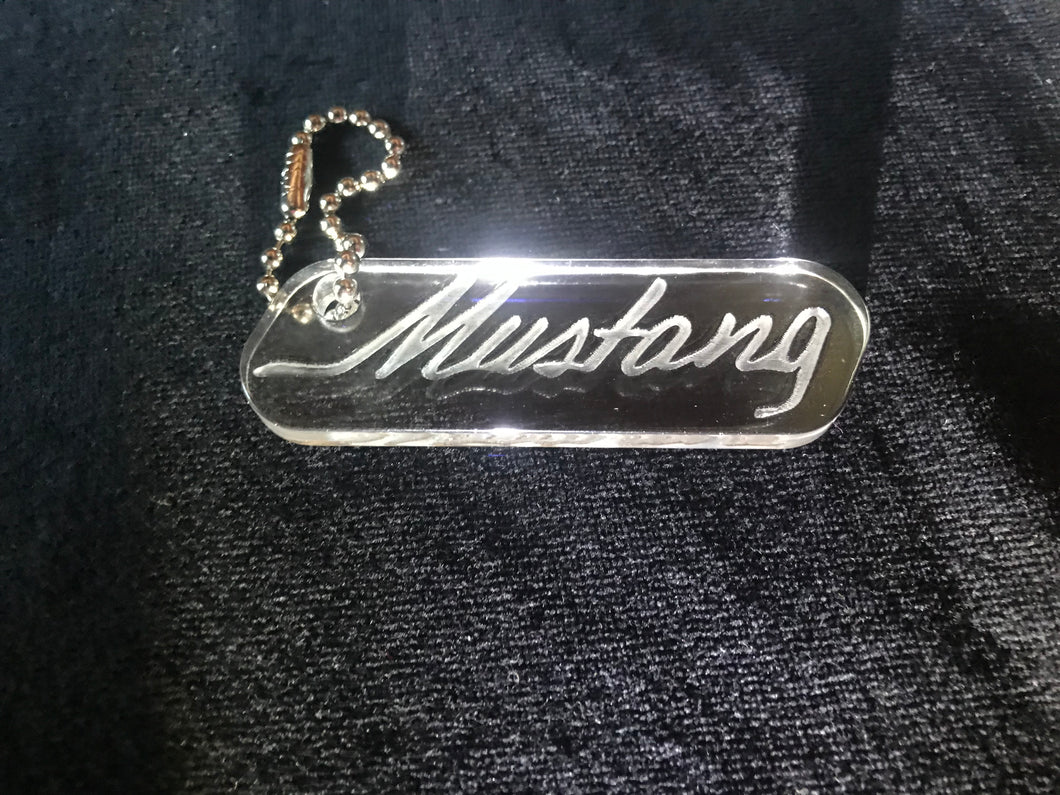 Keychain -Vehicle -  Mustang
