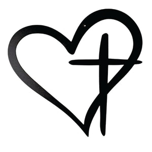 WA - Heart with Cross