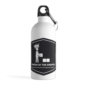 Kween of Krapola  Stainless Steel Water Bottle