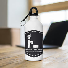 Load image into Gallery viewer, Kween of Krapola  Stainless Steel Water Bottle