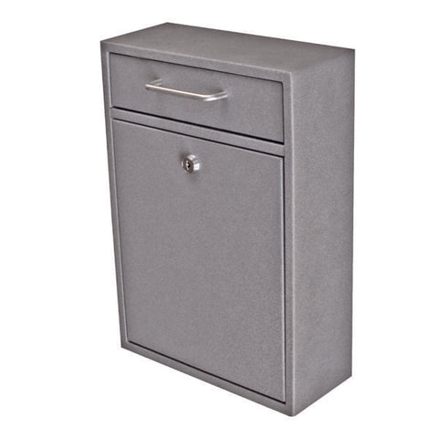 Mail Boss Granite Locking Security Drop Box 7415 - The Hardware Supply