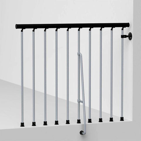 Arke Civik Spiral Stairway Balcony Rail Kits -Arke Civik Balcony Rails - The Hardware Supply
