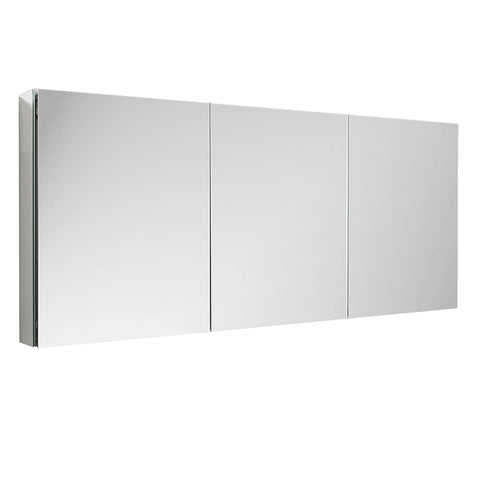 "Fresca Bathroom Medicine Cabinet w/ Mirrors 59"" x 36"" x 5"" FMC8020 - The Hardware Supply"