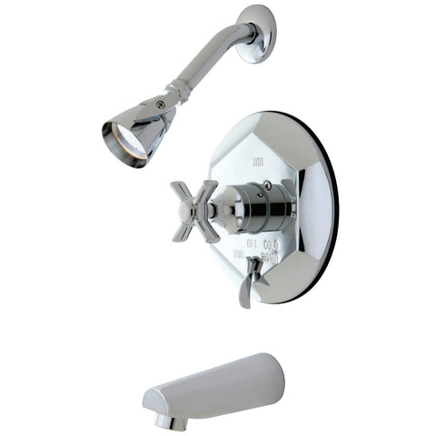 Kingston Brass KB46310ZX Tub/Shower Faucet, Polished Chrome-KB46310ZX - The Hardware Supply
