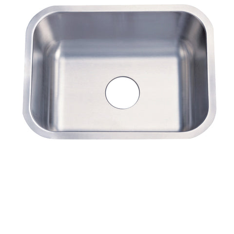 Kingston Brass KZKU23189BN Undermount Single Bowl Kitchen Sink Combo With Strainer and Grid, Brushed-KZKU23189BN - The Hardware Supply