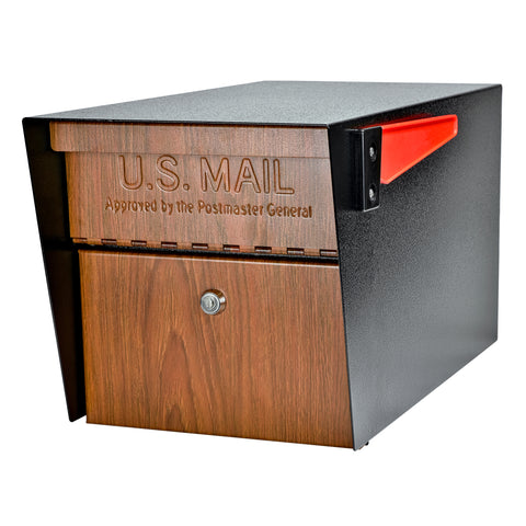 Mail Boss Wood Grain/Black Mail Manager Wood Grain 7510 - The Hardware Supply