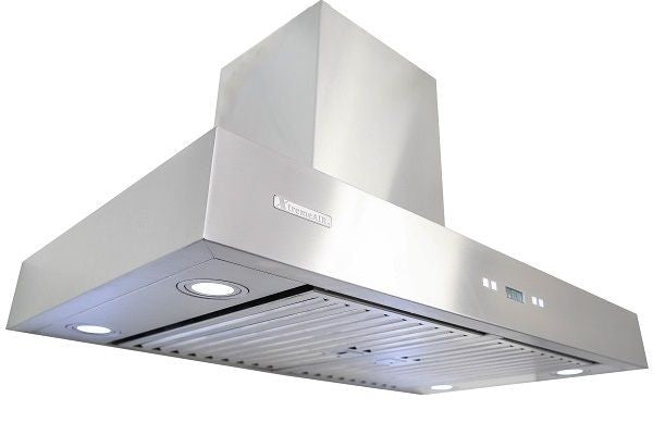 Xtreme Air USA PX04-W42 PRO-X Series LED Lights Swing-Able Flat Filters Non-Magnetic Wall Mount Range Hood Seamless Body In Stainless Steel - The Hardware Supply