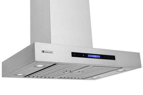 Xtreme Air USA PX06-W30 PRO-X Series Easy Clean Swing-Able Baffle Filters Wall Mount Range Hood In Stainless Steel - The Hardware Supply