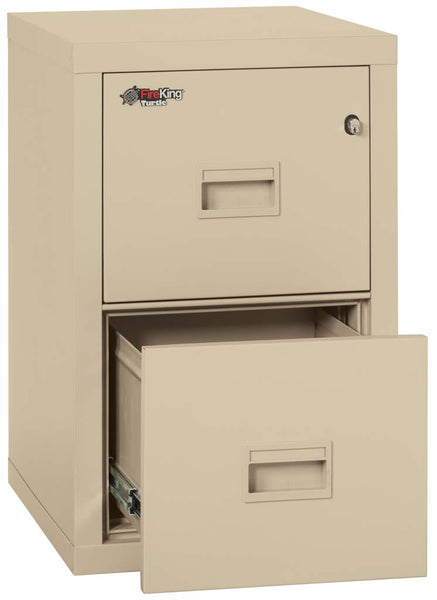 "FireKing Turtle 22"" Depth 2 Drawer File 2R1822-C"