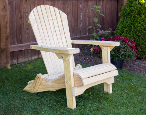 Creekvine Designs Folding Adirondack Chair FC24FADCVD