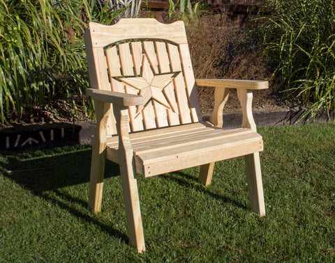 Creekvine Designs Treated Pine Starback Chair FC24STARCVD