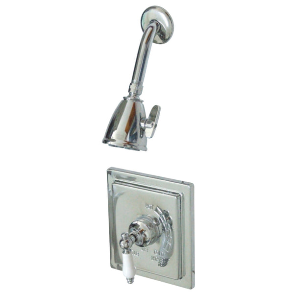 Kingston Brass VB8651PLSO Victorian Tub & Shower Shower Faucet, Polished Chrome-VB8651PLSO - The Hardware Supply