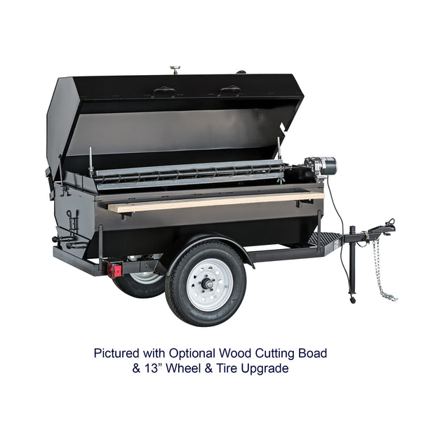 Big John Tow Behind Charcoal Grill/Rotisserie 6' 300761 - The Hardware Supply