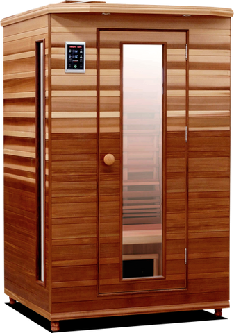 Health Mate Enrich II Infrared Sauna HM-ASE-2-CD-CL - The Hardware Supply