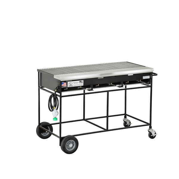 Big John A3CC Country Club Gas Grill with Stainless Steel Grates 300131-LPSS - The Hardware Supply