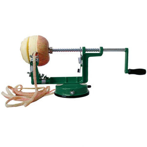 Appetito Apple Peeler / Corer With Suction Base - Green