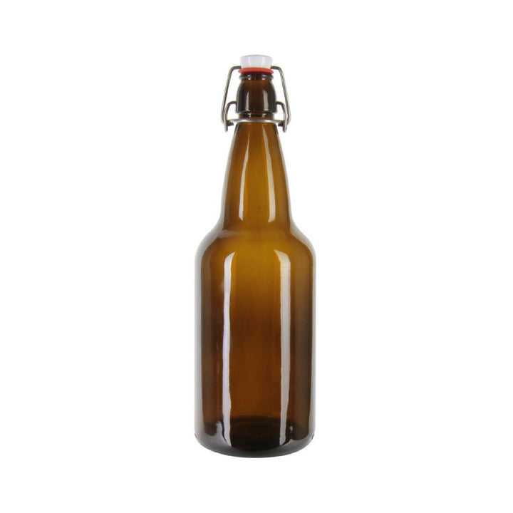 500ml Grolsch Style Beer bottles - Box of 6 - Amber Glass