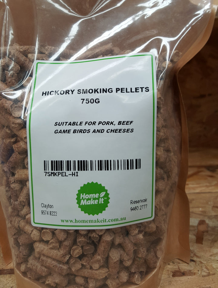 Smoking Pellets - Hickory 750g