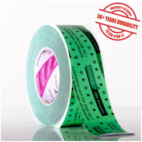 8 rolls x 75mm Gerband 586 Airtight Tape