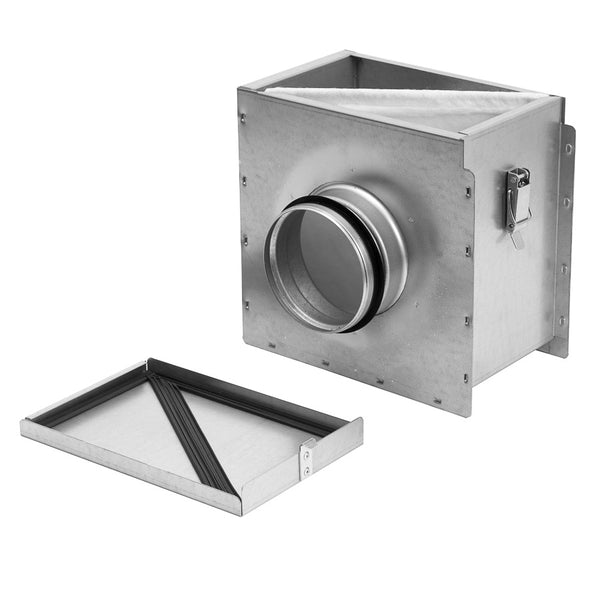 150mm air filter box for ventilation ducting.