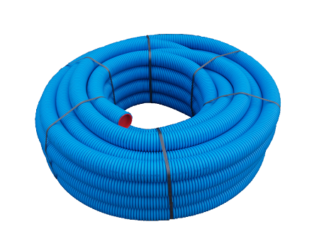 75mm Semi rigid radial ducting - length 50m