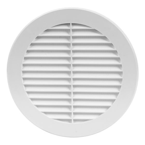 150mm External White Wall Grille