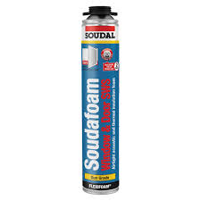 Soudal Airtight Expanding Foam - Box of 3