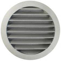 125mm duct kit, with damper & Aluminium grille - Length 3 metre