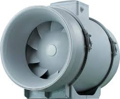 150mm inline ventilation fan with timer