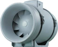 100mm inline ventilation fan with timer.