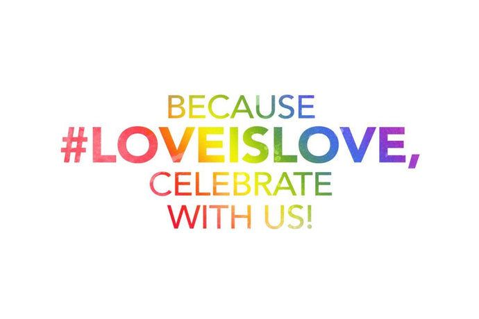 Because #LoveIsLove, Celebrate with us!