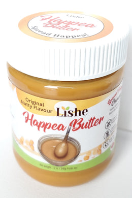 Happea Butter - Sweet Pea Vegan Crunchy Flavour - 1 Jar 340g