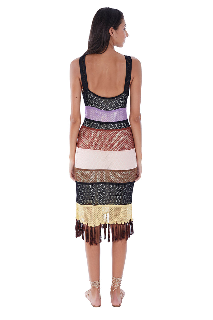 CROCHET FRINGE DRESS